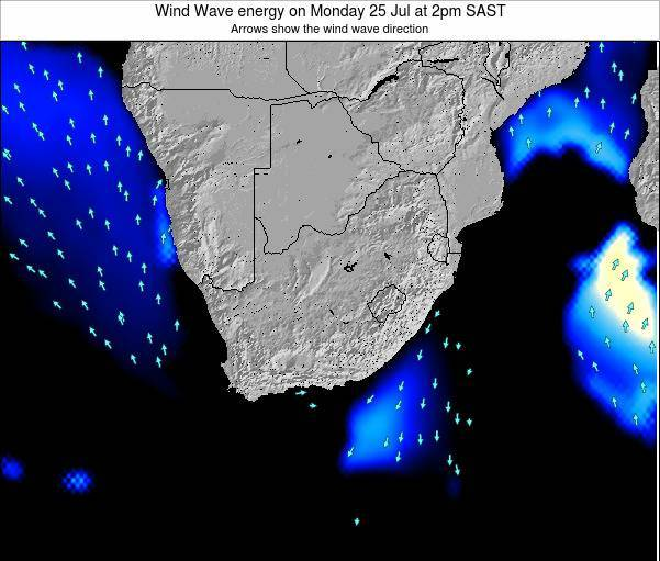 South Africa Wind Wave energy on Tuesday 29 Apr at 8pm SAST