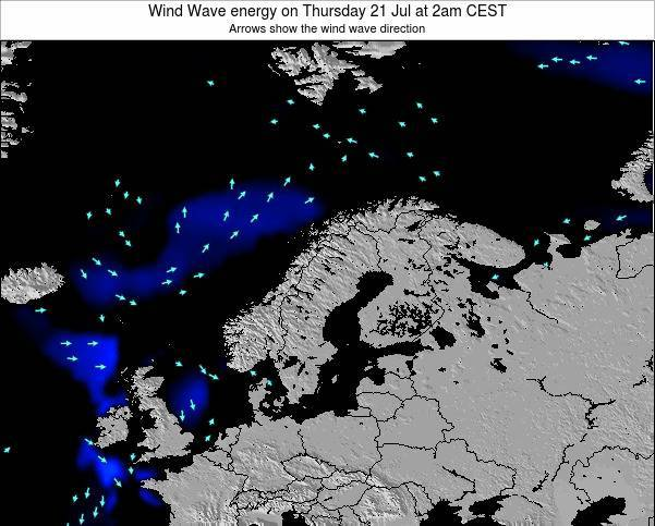 Finland Wind Wave energy on Tuesday 29 Apr at 2am CEST