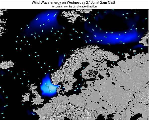 Norway Wind Wave energy on Friday 24 May at 8pm CEST
