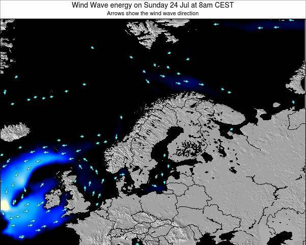 Finland Wind Wave energy on Friday 25 Jul at 2pm CEST