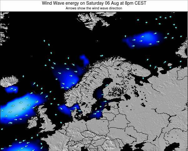 Finland Wind Wave energy on Monday 20 May at 8am CEST