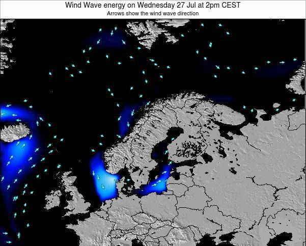 Norway Wind Wave energy on Wednesday 22 May at 8pm CEST