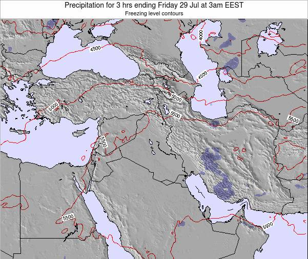 Syria Precipitation for 3 hrs ending Tuesday 29 May at 3am EEST map