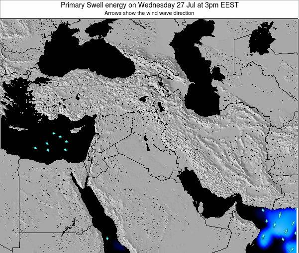 Syria Primary Swell energy on Thursday 23 May at 3pm EEST