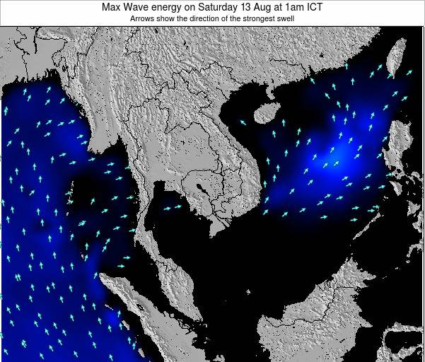 Thailand Max Wave energy on Monday 08 Sep at 7pm ICT