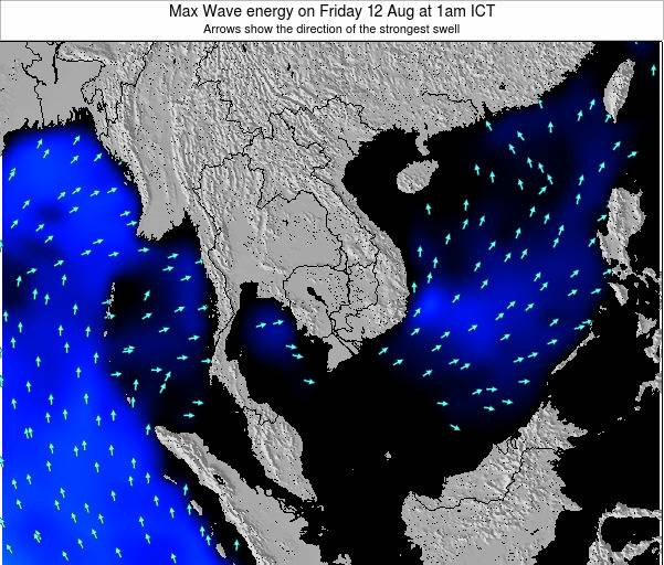 Cambodia Max Wave energy on Sunday 21 Feb at 7pm ICT