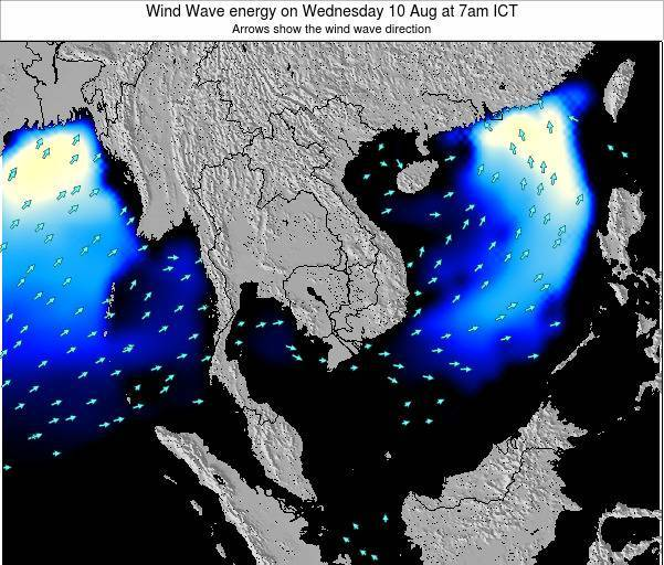 Thailand Wind Wave energy on Saturday 25 May at 7pm ICT