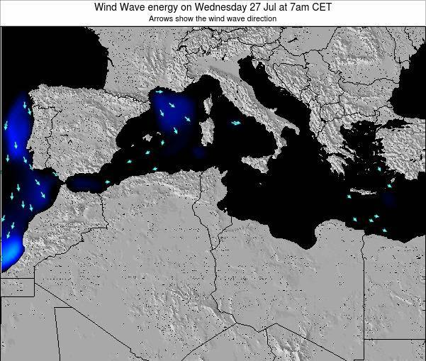 Algeria Wind Wave energy on Saturday 20 Dec at 7pm CET