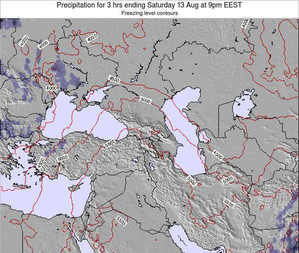 Turkey Precipitation for 3 hrs ending Thursday 30 May at 9am EEST map