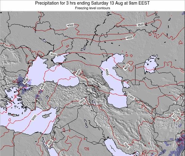 Turkey Precipitation for 3 hrs ending Tuesday 28 May at 9pm EEST map