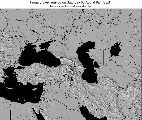 Turquia Primary Swell energy on Sunday 29 May at 9am EEST
