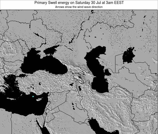 Turkey Primary Swell energy on Tuesday 11 Mar at 8am EET