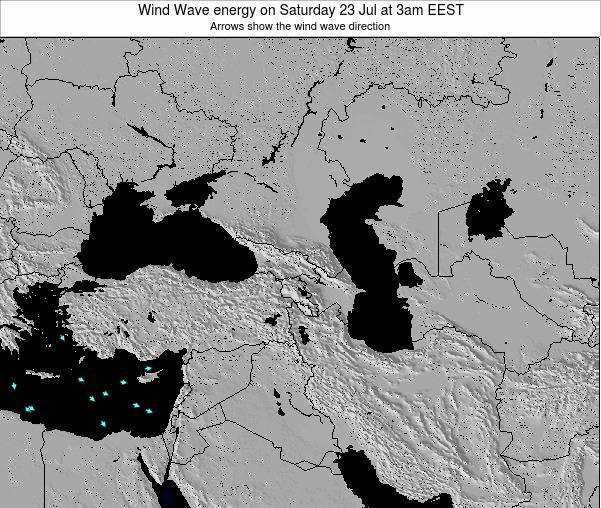 Cyprus Wind Wave energy on Saturday 15 Mar at 8am EET