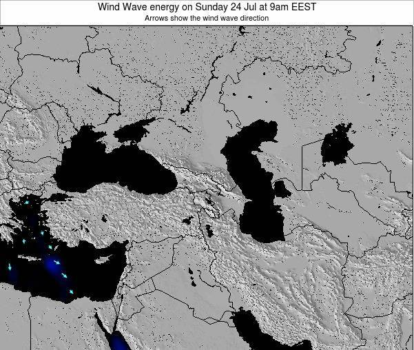 Cyprus Wind Wave energy on Friday 31 Oct at 9am EEST