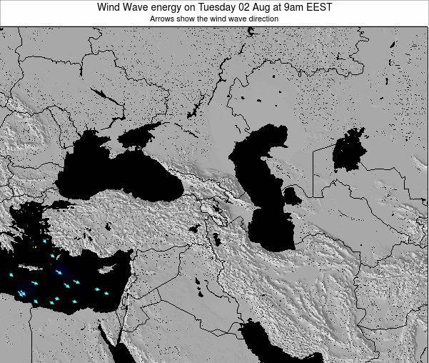Cyprus Wind Wave energy on Monday 04 Aug at 9am EEST