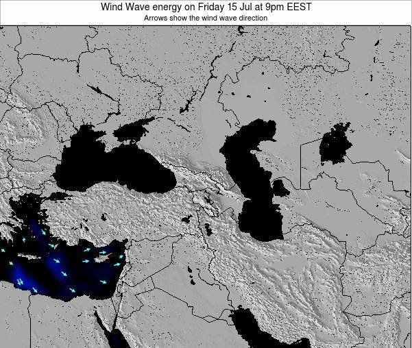 Turkey Wind Wave energy on Friday 25 Apr at 3am EEST