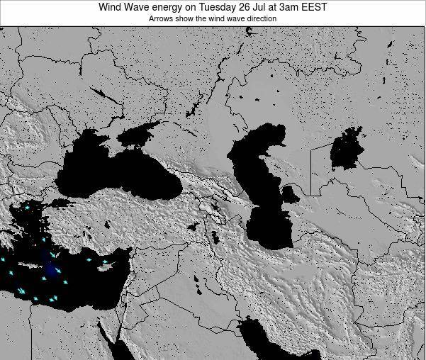 Turkey Wind Wave energy on Friday 01 Aug at 9pm EEST