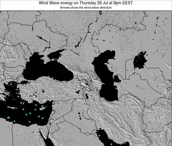 Turkey Wind Wave energy on Friday 25 Jul at 3pm EEST
