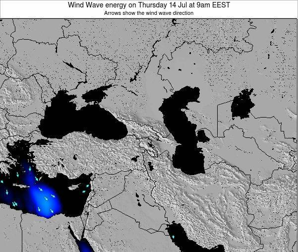 Turkey Wind Wave energy on Wednesday 11 Dec at 8am EET