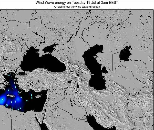 Turkey Wind Wave energy on Sunday 20 Apr at 3am EEST