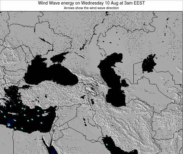Turkey Wind Wave energy on Wednesday 12 Mar at 2pm EET