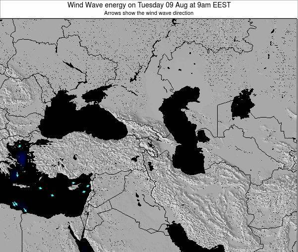 Turkey Wind Wave energy on Thursday 02 Apr at 3am EEST