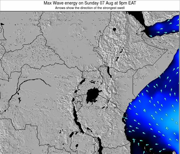 Tanzania Max Wave energy on Monday 24 Jun at 9am EAT