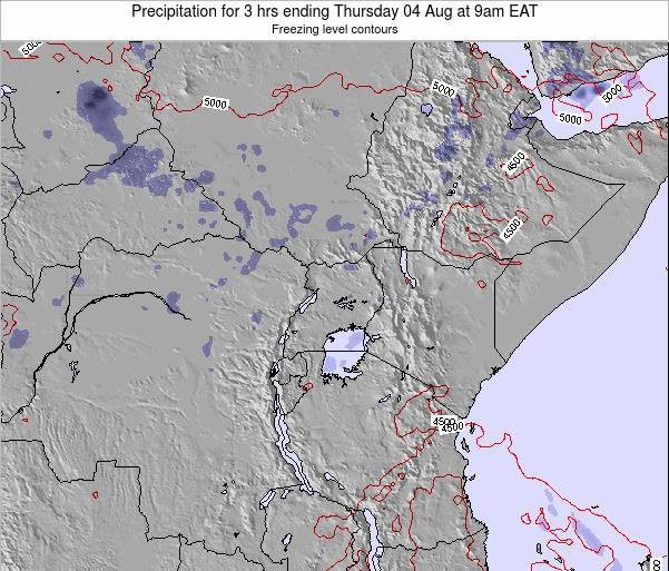 Tanzania Precipitation for 3 hrs ending Friday 26 Dec at 3pm EAT