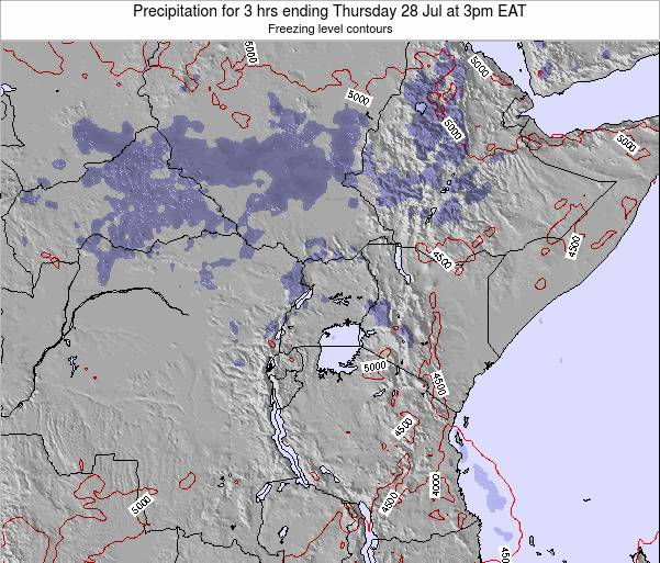 Tanzania Precipitation for 3 hrs ending Wednesday 29 May at 3am EAT