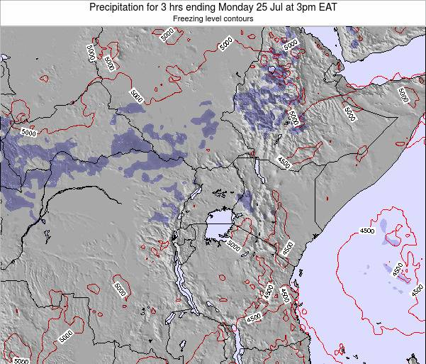 Tanzania Precipitation for 3 hrs ending Thursday 20 Jun at 9pm EAT
