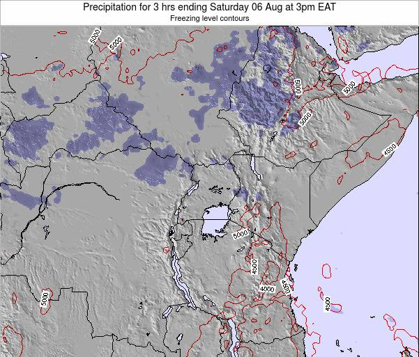 Tanzania Precipitation for 3 hrs ending Saturday 26 Apr at 3am EAT