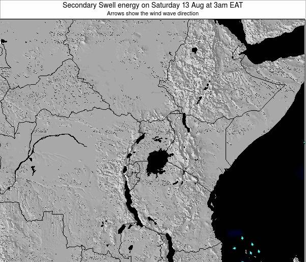 Kenya Secondary Swell energy on Saturday 25 May at 9pm EAT