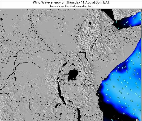 Tanzania Wind Wave energy on Sunday 04 Jun at 9pm EAT