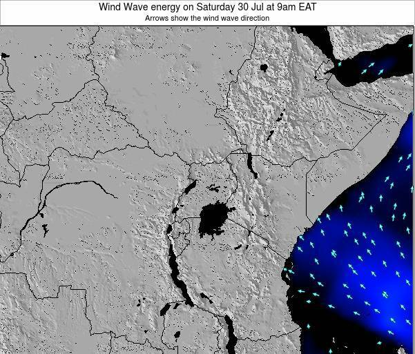 Tanzania Wind Wave energy on Tuesday 29 Apr at 3am EAT