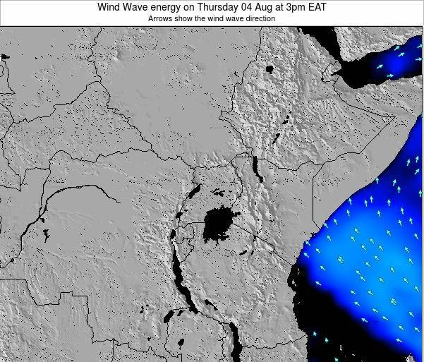 Tanzania Wind Wave energy on Thursday 30 May at 3am EAT