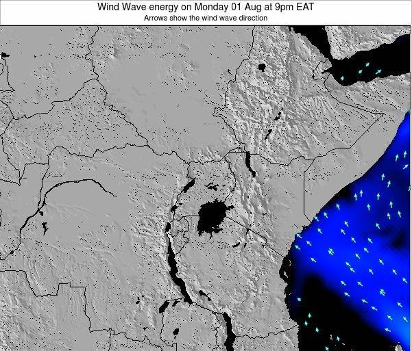 Tanzania Wind Wave energy on Tuesday 11 Mar at 9am EAT