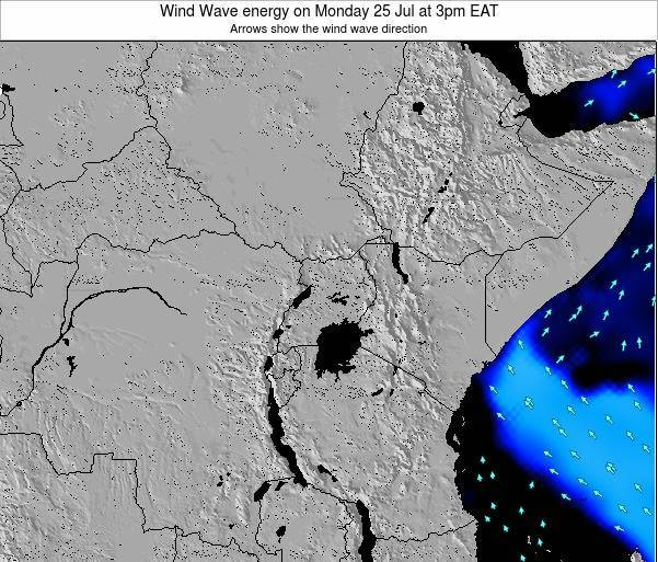 Tanzania Wind Wave energy on Wednesday 12 Dec at 9am EAT map