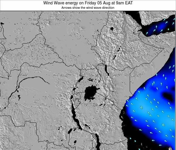 Tanzania Wind Wave energy on Thursday 23 May at 3am EAT