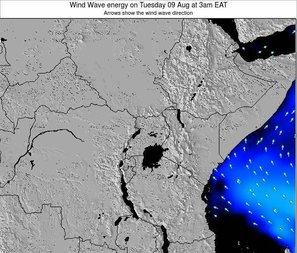 Tanzania Wind Wave energy on Wednesday 12 Mar at 3pm EAT