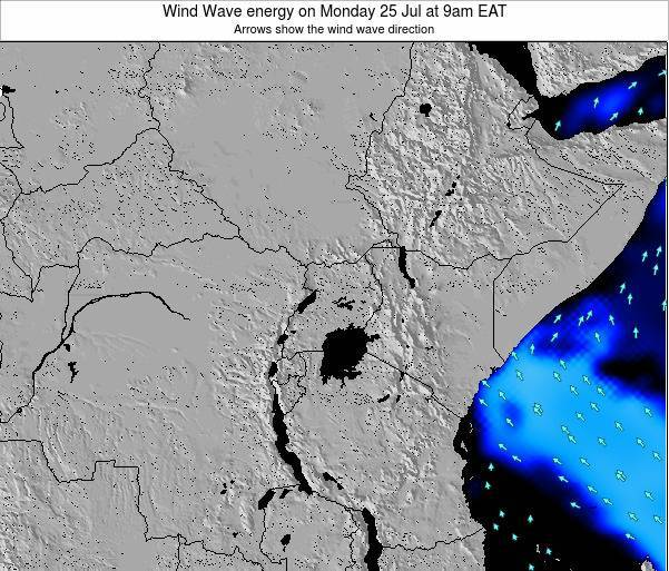 Tanzania Wind Wave energy on Thursday 31 Jul at 3am EAT