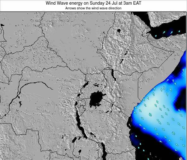 Tanzania Wind Wave energy on Sunday 27 Jul at 3am EAT