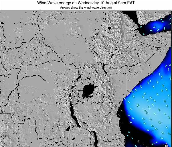 Tanzania Wind Wave energy on Monday 28 Apr at 3am EAT