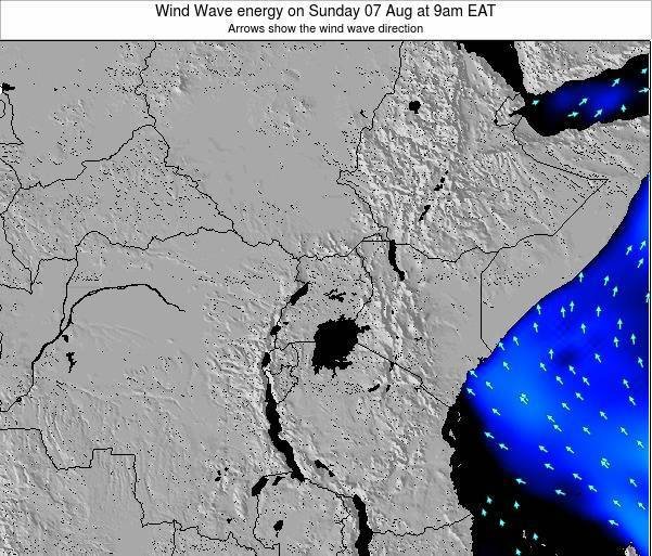 Tanzania Wind Wave energy on Wednesday 23 Apr at 3am EAT