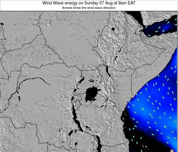 Tanzania Wind Wave energy on Tuesday 28 Oct at 3am EAT