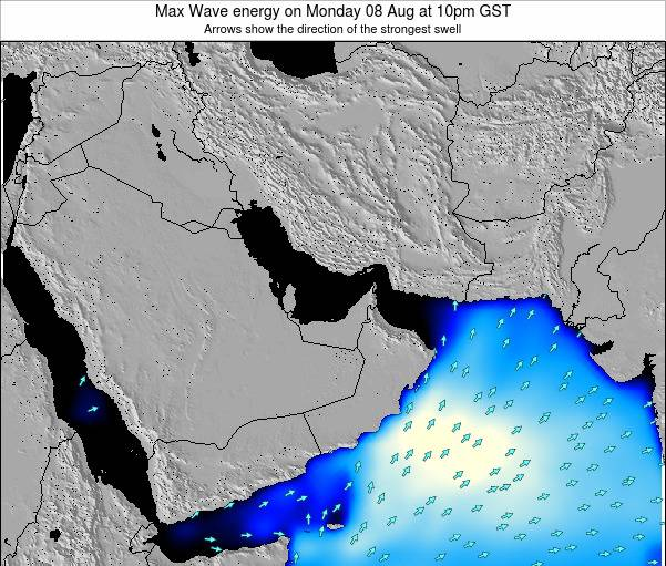 United Arab Emirates Max Wave energy on Thursday 23 May at 10pm GST