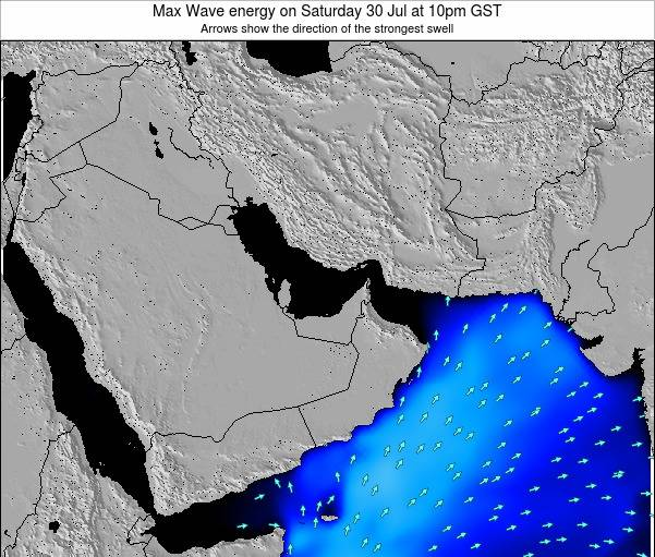 United Arab Emirates Max Wave energy on Saturday 25 May at 10pm GST