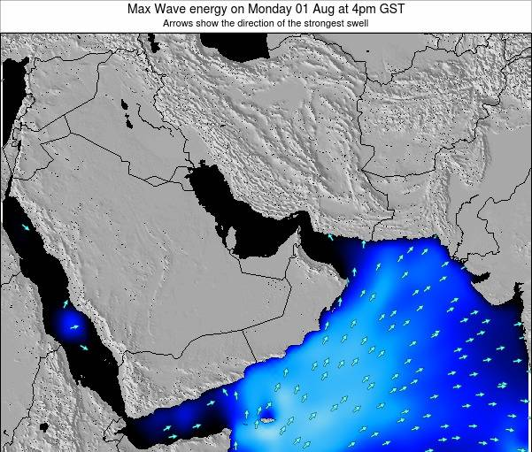 United Arab Emirates Max Wave energy on Sunday 26 May at 10pm GST