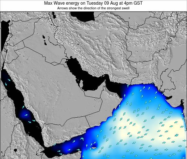 United Arab Emirates Max Wave energy on Monday 27 May at 10pm GST