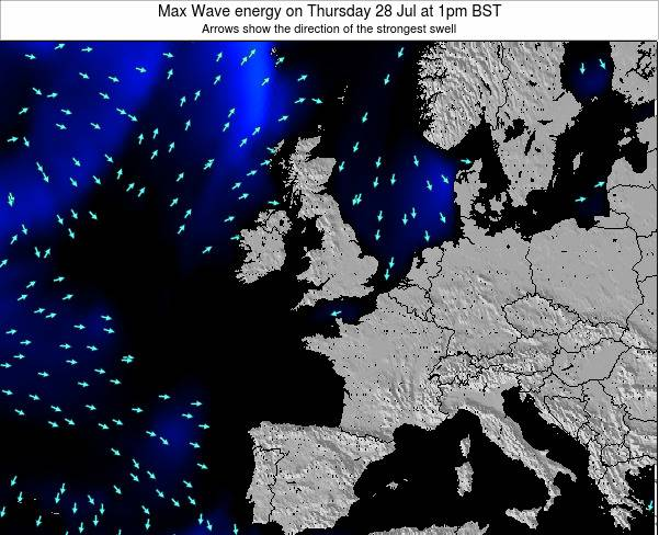 Ireland Max Wave energy on Friday 25 Apr at 7pm BST