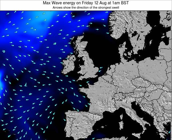 Ireland Max Wave energy on Saturday 26 Apr at 7am BST